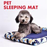 Mat Hayvan Paspas Köpek Kedi yatak Uyuyan Kamuflaj Baskılı Pet Mat Köpek Kedi fidanlıkları Köpek Evleri Kennel İçin Köpekler Kediler