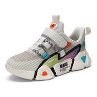Chaussures pour enfants Sneakers Mode Sneakers pour enfants Chaussures de sport respirantes Tenis Infantil Menina1