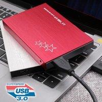 PC Lapto için Bilgisayar çevre birimleri Yüksek Hızlı Harici Sabit Disk 500G / 1T / 2T Taşınabilir USB 3.0 Harici Sabit Disk Sürücü 2.5inç HDD