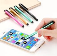 السعة القلم قلم الشاشة حساسة للغاية اللمس القلم لهواوي فون سامسونج غالاكسي الهاتف الوسادة العالمي ستايلس اللوحي