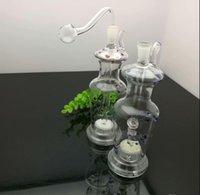 Europäische und amerikanische populäre Farbe gepunktete Vase Glas Zigarette Kessel Großhandel Bongs Ölbrenner Rohre Wasserrohre Kawumm Bohrinseln Smo