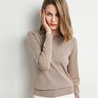 ZoCect осень зимний свитер женщины повседневные элегантные твердые пуловеры вязание вязание о-шеи основные новые перемычки женские плюс размер трикотажные изделия1