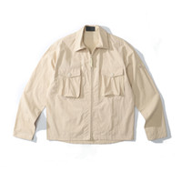 cptopstoney konng gonng printemps et automne 19SS oiseau fantôme coton nylon Tela Tela Street chemise