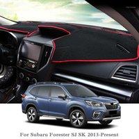 سيارة تصفيف السيارة تتجنب ضوء وسادة أداة منصة غطاء حصيرة روز ل فورستر SJ SK 2013 - الحاضر Lhdrhd غبار mat1
