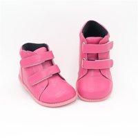 Tipsietoes 2020 Новая зимняя детская обувь кожаный Martin Mid-Calf Детские снежные девушки мальчики резиновые сапоги модные кроссовки LJ201028