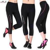 DivaSail de 1.5 mm Neopreno 3/4 Capri-Pants Pantalones recortados para hombres o mujeres Pantalones Remando Surfing Surfing Snorkel Warm1