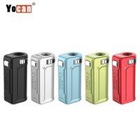 정통 Yocan Uni S Box Mod 400mAh 가변 전압 모든 510 카트리지에 대 한 VV 배터리가 장바구니 높이 조정 마그네틱 어댑터