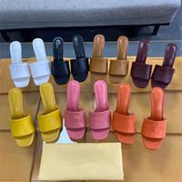 Quadrado Moda Uma palavra com fresco chinelos de verão feminino jóia na Europa e os Estados Unidos Lag Peep-Toe High-Heelhe