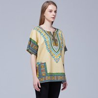 New One size Unisex African Traditional Printed Cotton Soft Textured Dashiki 2020
