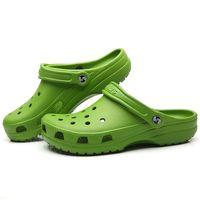 Sandales plate-forme pour les femmes 2020 creux Séchage rapide Sabots Femme Chaussures d'été grande taille 41-47 femmes sandales de plage Chaussures Jardin