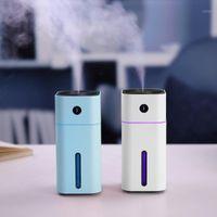 Hava Temizleyicileri Küçük D Sprey Nemlendirici USB Plug-in Araba Arıtma Masası Renkli Aydınlatma Su Sayacı 11
