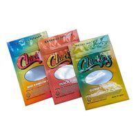 Sacchetti di imballaggio dei risati Gummies Candy Mylar Borsa Anelli Peach Anelli Gummy Worms Mini RAIINBOW Cinture 57.7Grams Zipper Zipper Odore PROVA PROVA PROVA