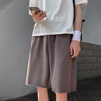 Instrine de mode d'été Mode 5 points Shorts de 5 points pour hommes et coréens, pantalons de jambe droite
