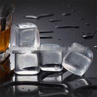 Carré forme de whisky pierres barues cuisine cuisine naturelle cristal pierre barre compteur blanc transparent marbre nouvelle arrivée 1 7by l1