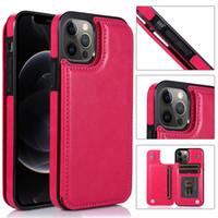 محفظة فاخرة حالة جلدية ل iphone12pro Mazx 11 7 8 زائد XR حالة الهاتف المحمول لسامسونج S20