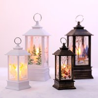 Christmas new product led small oil lamp simulation flame la...
