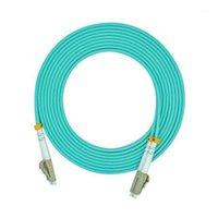 Équipement à fibre optique Câble de câble de raccordement LC-LC OM3 MODE MODE DUPLEX 50 / 125UM 2.0mm 15m Optical1