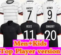 اليورو 2020 لاعب نسخة ألمانيا لكرة القدم جيرسي الرئيسية هامليلز كروس مولر gotze لكرة القدم قميص havertz رجل جيرسي الاطفال كيت