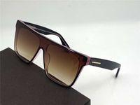 0709 moda en kaliteli en çok satan vasıflı UV400 asil gözlük en çok satan kare kare eğilim avangard tarzı kadın ve erkek güneş gözlüğü