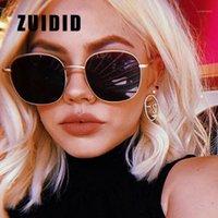 Güneş Gözlüğü Zuidid Klasik Büyük Çerçeve Yuvarlak Kadınlar / Erkekler Marka Tasarımcısı Moda Vintage Güneş Gözlükleri Kadın Sürüş Gözlük1
