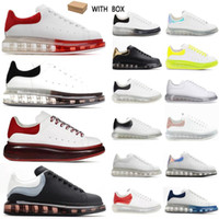 top quality 2021 designer fashion luxury espadrille flat flats alexander mcqueens men mcqueen oversized shoes sneaker men women platform shoes baskets sneakers