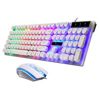 Keybard 104 keys Gaming Wired Keyboard Colorful LED Backlit ...