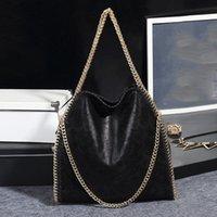 2021 New Women's Handbags Tide Solid Shoulder Bag Pu Female Package Foldable Matte Chain Bags Leather Luxury Designer Color Fem Mffpx