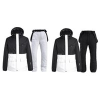 Waterproof Snowsuit With Jacket Pants Windproof Warm Skiing ...