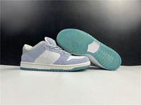 Special Edition Low Скейтборд Дизайнерская обувь White Психические Blue Metallic Gold Fashion Sport Sneakers хорошее качество Come With Box