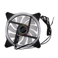 Ventilatori Coolings Computer PC RGB Color-Changing Symphony LED Light Case Cooler Fan di raffreddamento (RGB Ray) 1