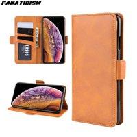 Vitello Portafoglio modello Leather Case for iPhone 12 pro Max 12pro 12mini iphone12 copertura di vibrazione del telefono caso del basamento Affari