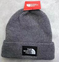 2021Newest Fashion Beanies TN 브랜드 남성 가을 겨울 모자 스포츠 니트 모자 두꺼운 따뜻한 캐주얼 야외 모자 캡 더블 양면 비니 두개골 모자