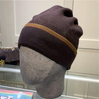 2021 الخريف والشتاء الأزياء شعبية الفراء الحقيقي بوم بوم محبوك بيني نوعية جيدة الشتاء الدافئة الجمجمة القبعات الكفة قبعة القبعات للرجال