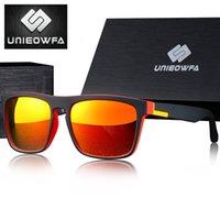 ساحة UNIEOWFA وصفة النظارات الشمسية المستقطبة البصرية قصر النظر بولارويد نظارات شمسية للرجال UV400 حملق نظارات لتعليم قيادة السيارات