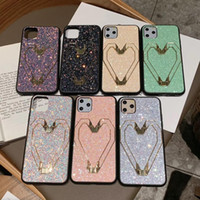 Bling Bling Glitter Phone Case With Kickstand For iPhone 11 ...