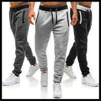 Men's Pants Pantalones Casuales De Sarga Algodón Para Hombre, Mallas Gris, Tobillo Largo, Súper Elásticos Homb
