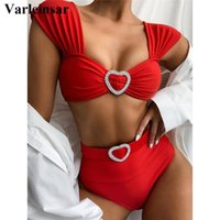 New Sexy High Waist Bikini 2020 Female Swimsuit Women Swimwe...