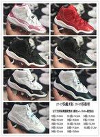Высокое качество Средний ребенок AJS 11 Детская спортивная обувь китайский красный великий лорд спортивная обувь детей бегущий кроссовки 28-35