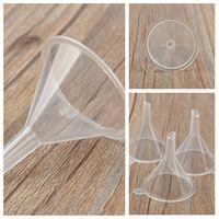 مصغرة من البلاستيك الشفاف الحفرة الصغيرة عطر من الضروري النفط زجاجة فارغة حزمة فرعية السائل أدوات مطبخ الحفرة T2I51620