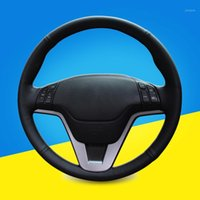 Hand Sewing Car Steering Wheel Cover For CRV 2007- 2011 Auto ...