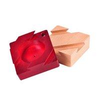 Puzzle de madera para adultos Puzzle de madera Juguetes Juguetes de apertura secreto de Kong Ming Lock Luban Mystery Regalo
