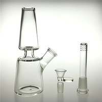 DHL SHIP 7 Inch Glass Water Bongs Dab Rig 14mm Female Downst...