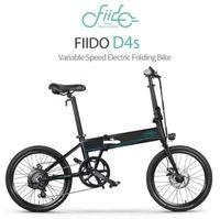 [بولندا / الأسهم الأمريكية] fiido d4s 10.4ah 36 فولت 250 واط 20 بوصة قابلة للطي الدهون ebike الدراجة دراجة 25 كيلومتر / ساعة أعلى سرعة 80km الدراجة الكهربائية