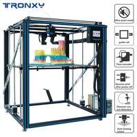 Stampanti Tronxy X5SA-500 Pro Stampante 3D Guida all'aggiornamento Guida guidata Estrusore Sensore di livello Auto Alta precisione Grande stampa Impresora 3D1