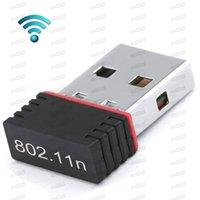 Atacado Mini USB Adaptador Bluetooth STA WIFI WLAN 150Mbps adaptador 802.11n Dongle sem fio para Win10 7 WLAN Accessory