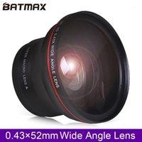 كاميرات CCTV الأخرى 52 ملليمتر 0.43x batmax المهنية hd عدسة زاوية واسعة (جزء من ماكرو) لنيكون D7100 D7000 D5500 D5300 D5200 D5100 D3300 D