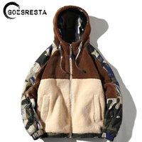 Goesresta Marka Yeni erkek Ceketler Streetwear Sonbahar Ve Kış Vahşi Sıcak Moda Rahat Ultralight Ceket Ceket Erkekler 201116