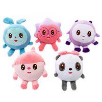 5Pcs Set Baby Riki 20cm Baby Cartoon Plush Toy Cute Animals Baby Kids Plush Doll Pendant Decoration Toy Child Birthday Gift 201204
