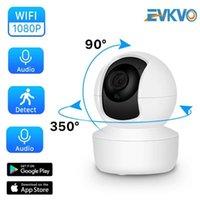 1080p Cloud IP Camera Telecamera Home Sicurezza Sorveglianza Camera 2MP Auto Tracking Network WiFi Wireless CCTV Baby Monitor1