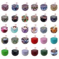 66 차 케이스 캔들 홀더 케이스 여러 가지 빛깔의 사탕 상자 결혼식 선물을 디자인 저장 주석 상자 당은 선물 포장 CCA12621의 300PCS 공급